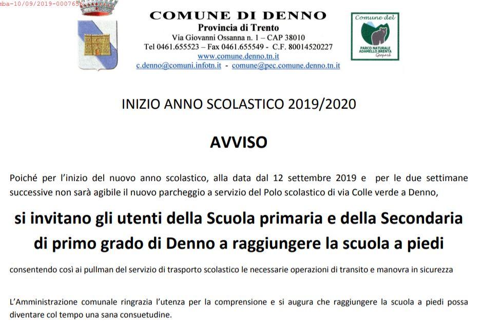 Calendario Scolastico 2020 20 Trento.Ic Bassa Anaunia Tuenno